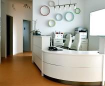 Empfang, Kinderarztpraxis, Offenbach